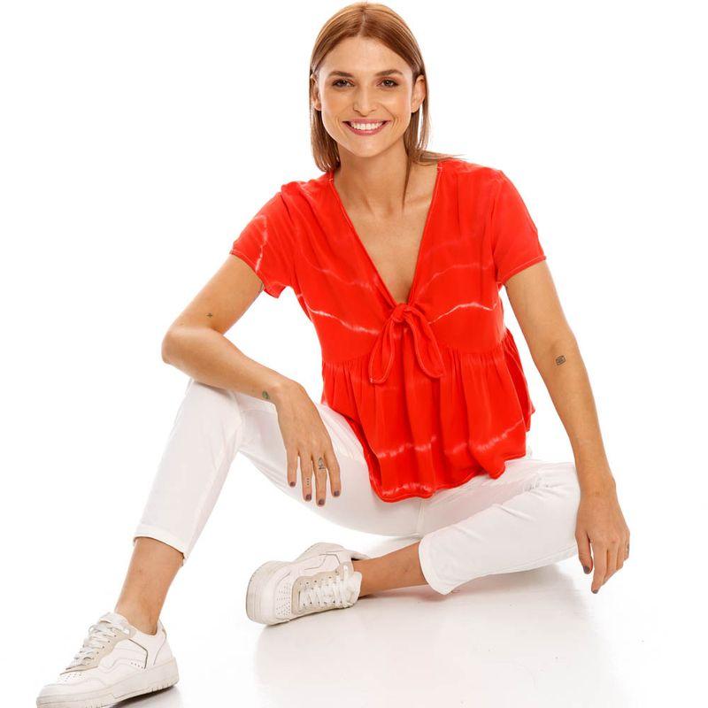 Camisa-Para-Mujer-Camisa-