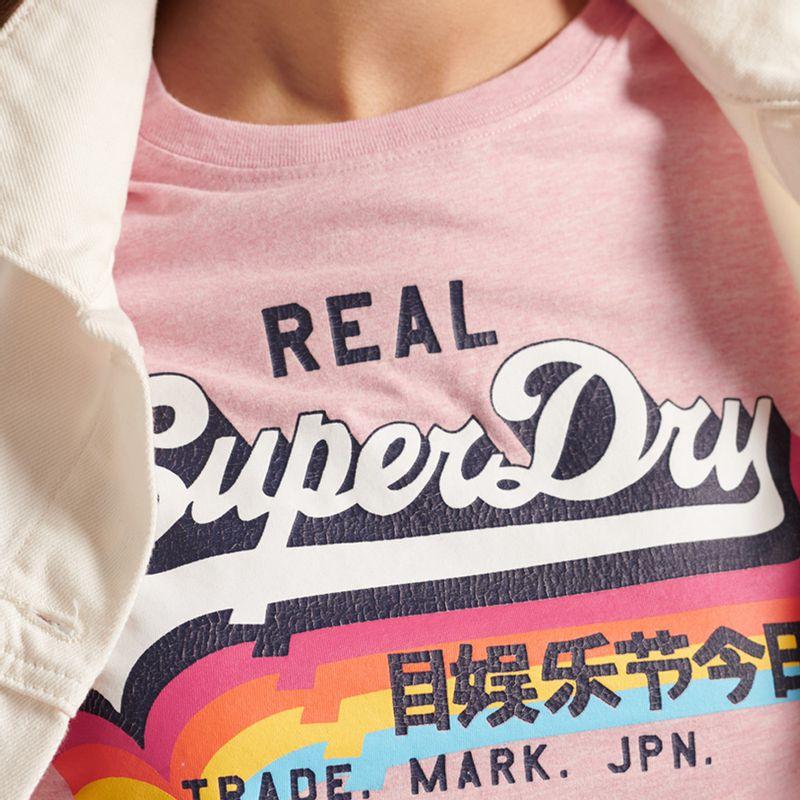 Camiseta-Para-Mujer-Vl-Tee-Superdry