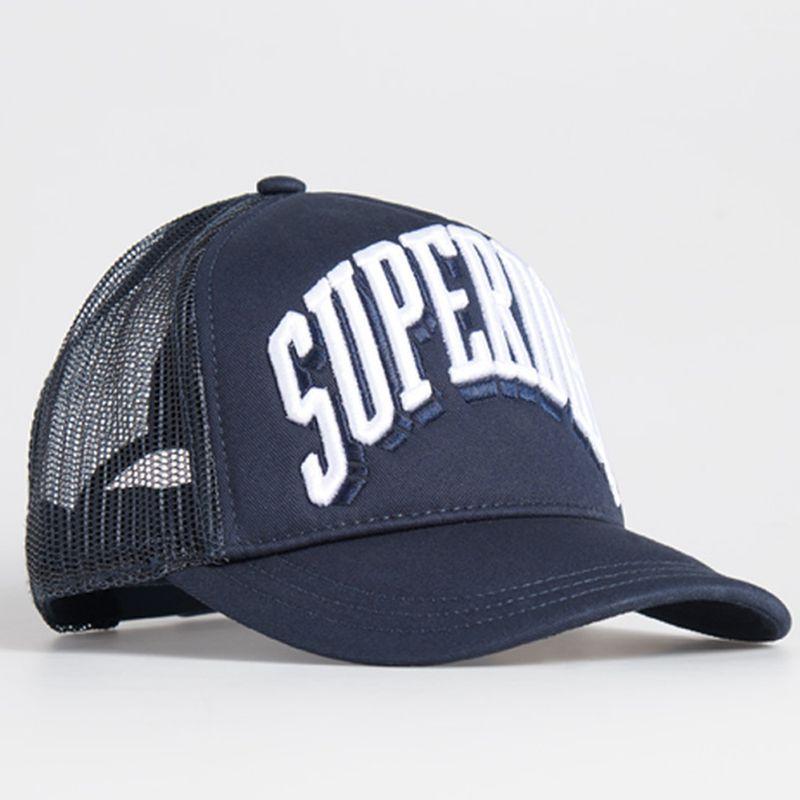 Gorro-Para-Hombre-Sport-Tri-Logo-Trucker-Cap-Superdry