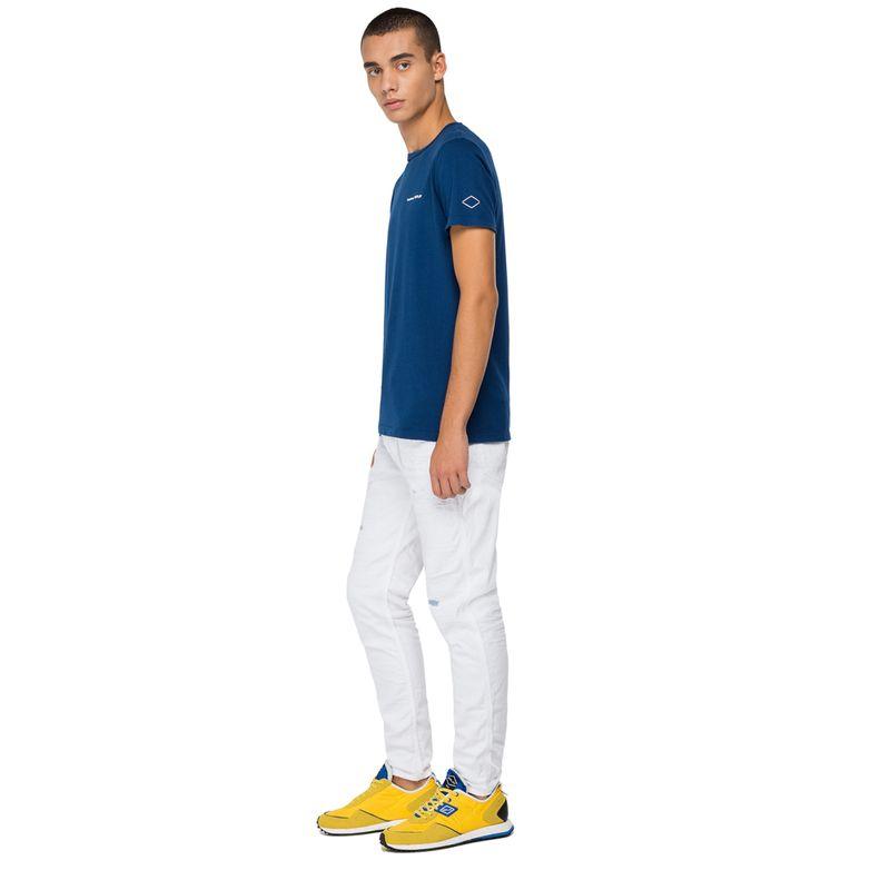 Camiseta-Para-Hombre-Garment-Dyed-Cotton-Replay
