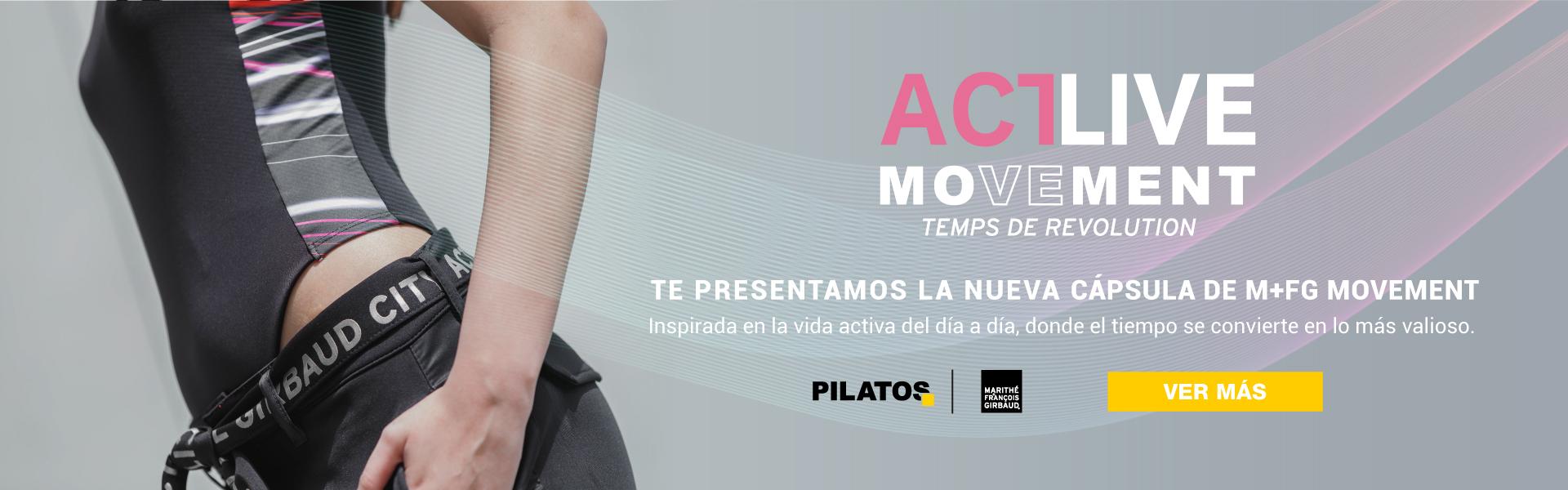 ActLive Movement nueva colección de Girbaud en Pilatos